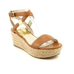 Michael Kors Jalita Platform Sandal sz 9.5